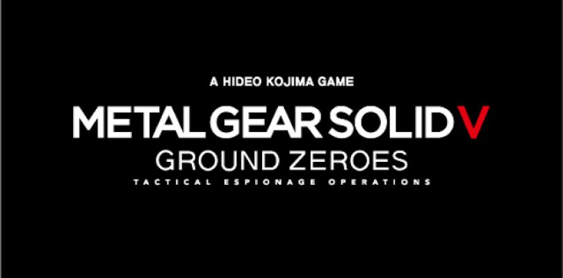 Metal Gear Solid V : Ground Zeroes. Et maintenant la jaquette