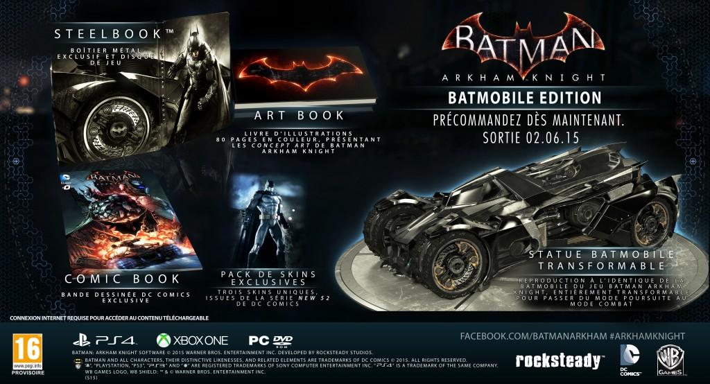Pack Batmobile Edition